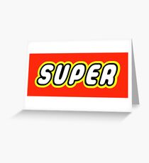 SUPER Greeting Card