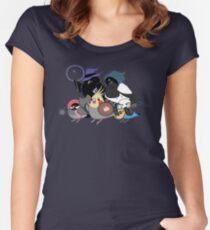 D&D Birds Women's Fitted Scoop T-Shirt