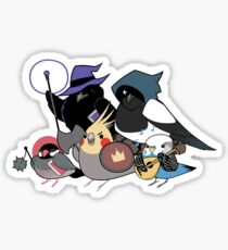 D&D Birds Sticker