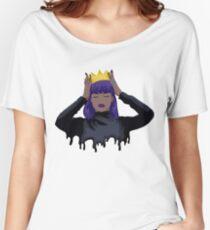 Purple Queen Women's Relaxed Fit T-Shirt