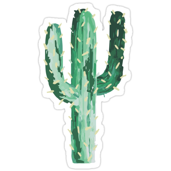 Quot Cactus Quot Stickers By Efara1 Redbubble