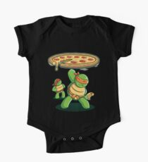 Delicious Disk Attack - Ninja Turtles One Piece - Short Sleeve