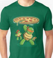 Delicious Disk Attack - Ninja Turtles Unisex T-Shirt