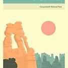 CANYONLANDS NATIONAL PARK by JazzberryBlue