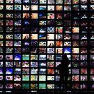TV screen makes you feel small... by Nando MacHado