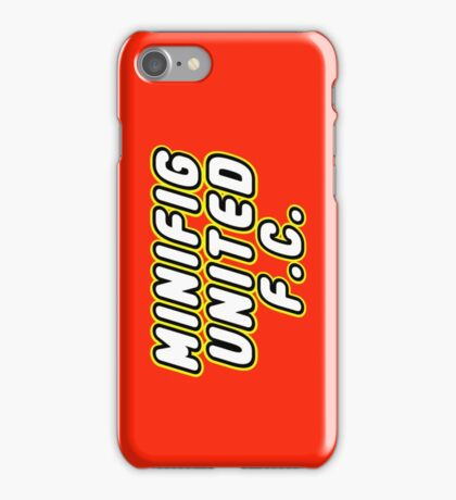 MINIFIG UNITED FC, Customize My Minifig iPhone Case/Skin