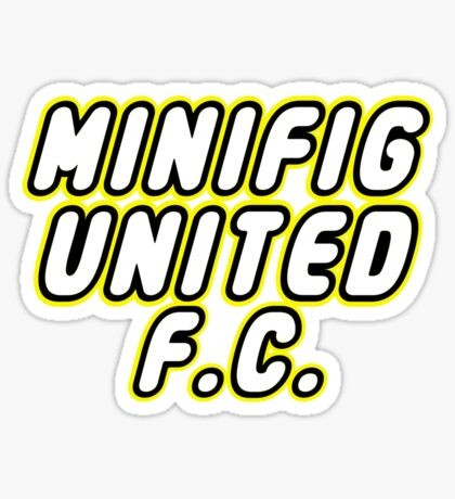 MINIFIG UNITED FC, Customize My Minifig Sticker