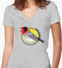 Arizona Birding Trip Logo  Women's Fitted V-Neck T-Shirt