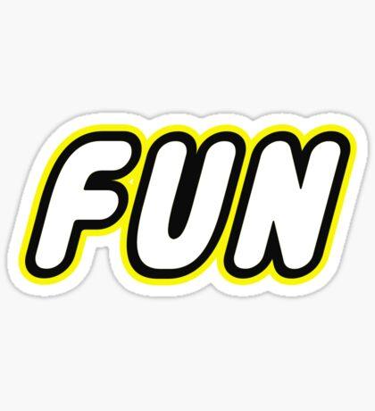 FUN, Customize My Minifig Sticker