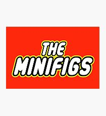 THE MINIFIGS Photographic Print
