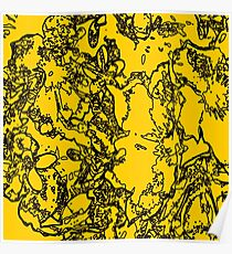 Yellow Bumble  Poster