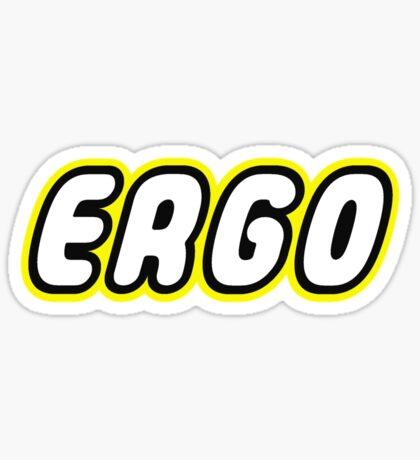 ERGO Sticker