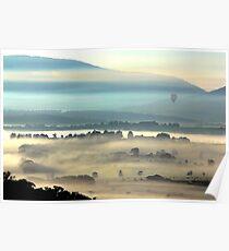 Yarra Valley Sunrise Poster