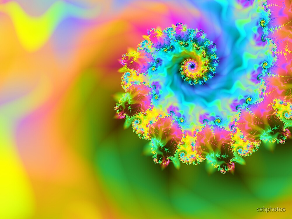 Colorful Vortex by cshphotos