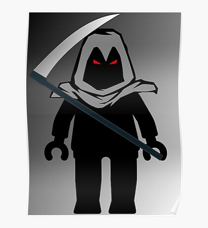 Grim Reaper Minifig, 'Customize My Minifig' Poster