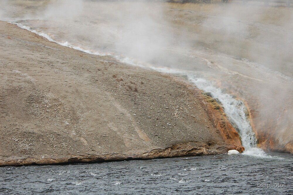 Steaming Yellowstone by cshphotos