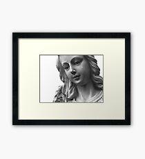 Crying Angel Framed Print