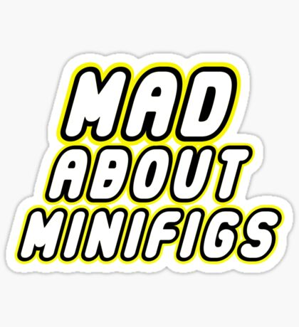 MAD ABOUT MINIFIGS, Customize My Minifig Sticker