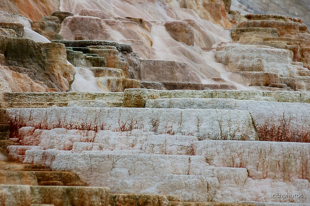 Yellowstone Formations by cshphotos