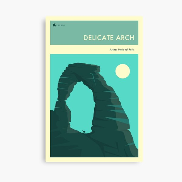 THE DELICATE ARCH Canvas Print