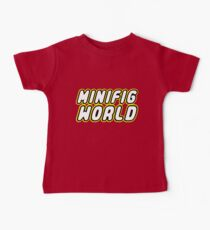 MINIFIG WORLD, Customize My Minifig Baby Tee