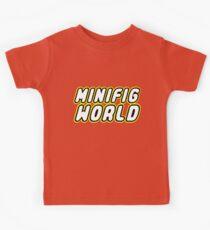 MINIFIG WORLD, Customize My Minifig Kids Tee