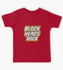 BLOCK HEADS ROCK Kids Tee