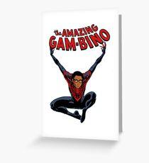 the amazing gambino Greeting Card