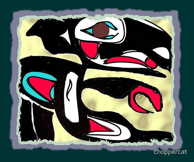Gitksan Raven by choppercat