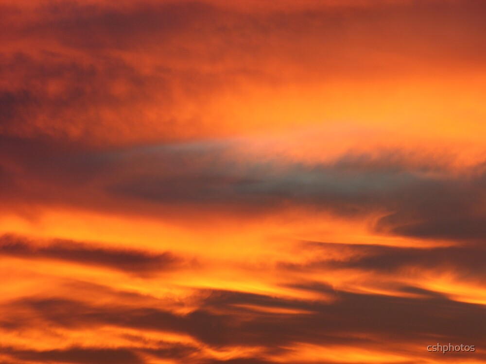 Fire in the Sky by cshphotos