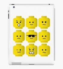 'Minifig Moods' iPad Case/Skin