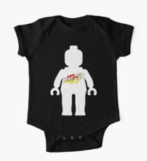 White Minifig with Music Log, Customize My Minifig Kids Clothes