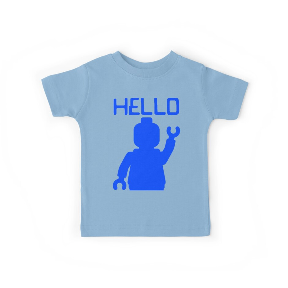 Minifig Hello by Customize My Minifig