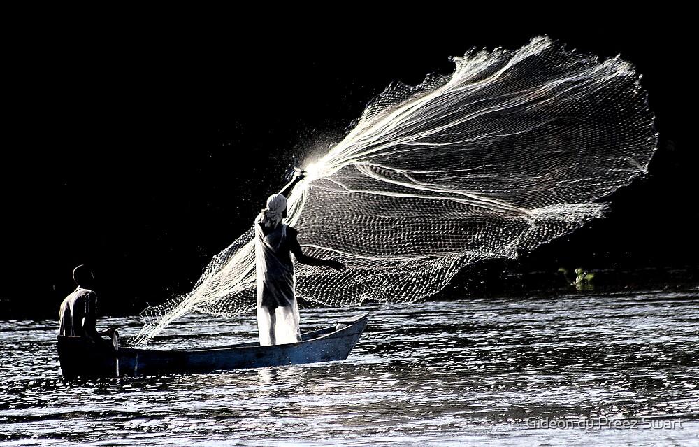 art of fishing by Gideon du Preez Swart