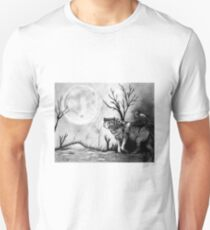 Wolf and Raven Unisex T-Shirt