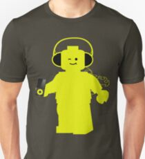 Minifig with Headphones & iPod T-Shirt