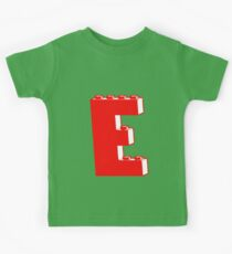 THE LETTER E, Customize My Minifig Kids Clothes