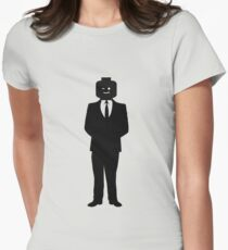 Minifig Business Man Women's Fitted T-Shirt