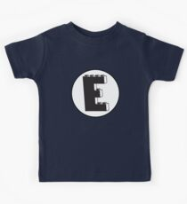 THE LETTER E Kids Clothes