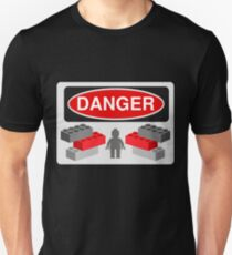 Danger Bricks & Minifig Unisex T-Shirt