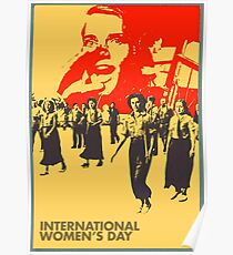 international womens dayt VIII Poster