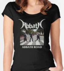 Abbath Road Women's Fitted Scoop T-Shirt