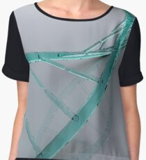 Conceptual image of DNA. Chiffon Top