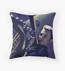 cross processed rock & roll Throw Pillow