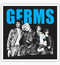 The Germs Sticker