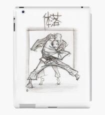 TAI OTOSHI WHITE iPad Case/Skin