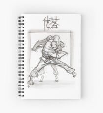 TAI OTOSHI WHITE Spiral Notebook