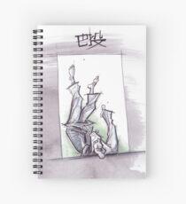 TOMOE NAGE GREEN Spiral Notebook