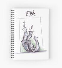 TOMOE NAGE WHITE Spiral Notebook