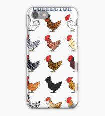 Chicken collector iPhone Case/Skin